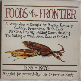 Foods of the Frontier book