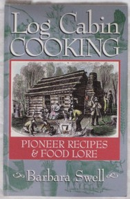 Log cabin cooking book