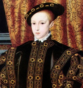 Edward VI died just five years into his reign, and the crown would have passed onto his half-brother