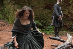 Image: Finnich Glen in Outlander