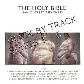 Image: Manics Holy Bible Tracks 1-6