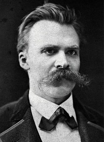 Nietzsche could do with some mustache trimming