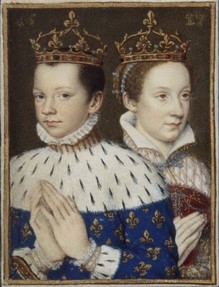 The marriage of Mary, Queen of Scots, and Francis II of France
