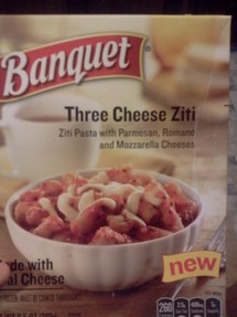 Three Cheese Ziti Dinner