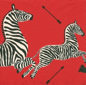 red zebra party supplies