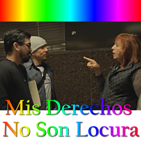 Image: #MisDerechosNoSonLocura Gay Marriage in Mexicali
