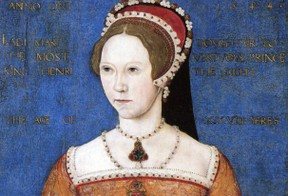Mary I would have named her child heir if she had one.