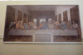 Copy of da Vinci's Last Supper