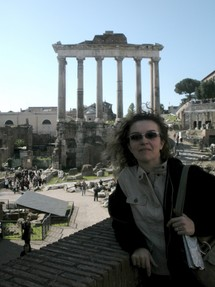 sockii at the Forum in Rome, Italy