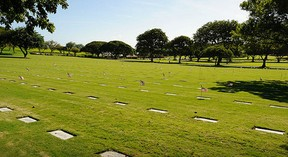 Photo of National Memorial Cemetery of the Pacific courtesy of Daniel Ramirez