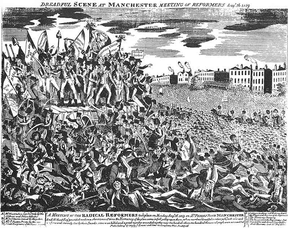 The Dreadful Massacre at Peterloo
