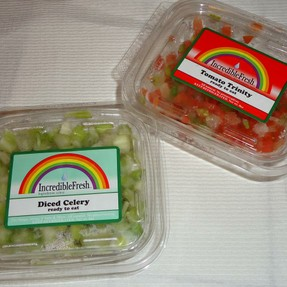 Ready Chopped Veggies from the grocery stpre