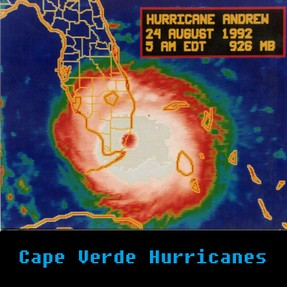 Hurricane Andrew, Approaching South Florida