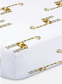 Giraffe Crib Sheet
