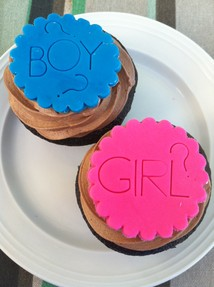 Boy or Girl Cupcakes