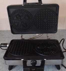 My old pizzelle maker