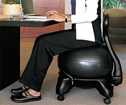 Ball Chairs Make Great Office