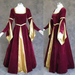 Medieval handfasting gowns for a pagan bride traditional pagan wedding dresses junglespirit Gallery
