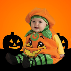 halloween pumpkin costumes for babies and toddlers