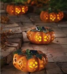 Halloween Decorations Using Fiber Optics