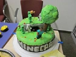 Sensational Minecraft Birthday Cake Ideas How To Decorate The Cake Funny Birthday Cards Online Elaedamsfinfo