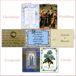 Wedding Cards For Christian Marriages