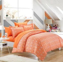rise u0026 shine orange and white comforter u0026 bedding sets