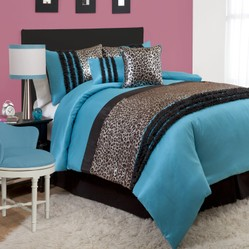 Turquoise And Black Bedding And Comforter Sets